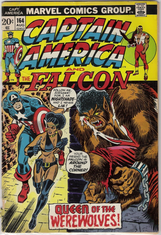 Captain America and Falcon 164 VG 4.0