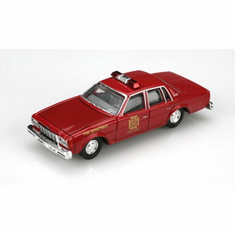 Classic Metal Works 30168 HO 1978 Chevy Impala Fire Chief