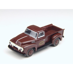 Classic Metal Works 30208 HO 1954 Ford F-350 Pickup, PRR