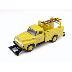 Classic Metal Works 30211 HO 1954 Ford F-350 Utility Truck, UP