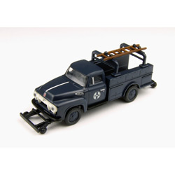 Classic Metal Works 30214 HO 1954 Ford F-350 Utility Truck, SF
