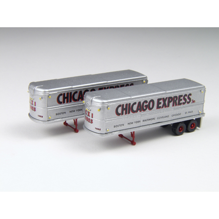 Classic Metal Works 51104 N 32' Aerovan Trailer, Chicago Express(2)