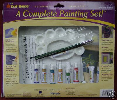 Craft House A complete painting set for Beginners 27003