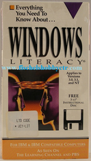 D.E.C. Windows Literacy VHS with 3 1/2 Floppy Instructional disc