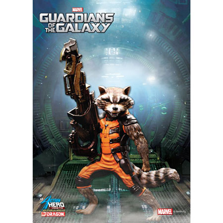 "Dragon 38130 7"" Guardians of the Galaxy-Rocket Raccoon"