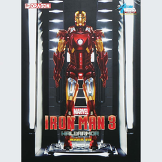 Dragon Models 38126 1/9 Iron Man 3 Hall Of Armor Mark VII