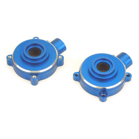 Dynamite 7600 Aluminum F/R differential Gearbox Housing for .15 T-maxx Blue