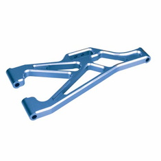 Dynamite DYN7201B F/R Lower Suspension Arms, Alum,Blue: LST, AFT