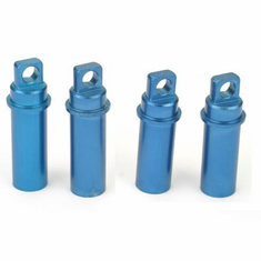 Dynamite DYN8002B Alum Shock Bodies, Blue: Mini-T