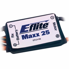 E-Flite EFLA102 Max 25 Brushed ESC with Arm Switch