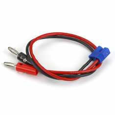 "E-Flite EFLAEC312 EC3 Device Charge Lead with 12"" Wire & Jacks,16AWG"