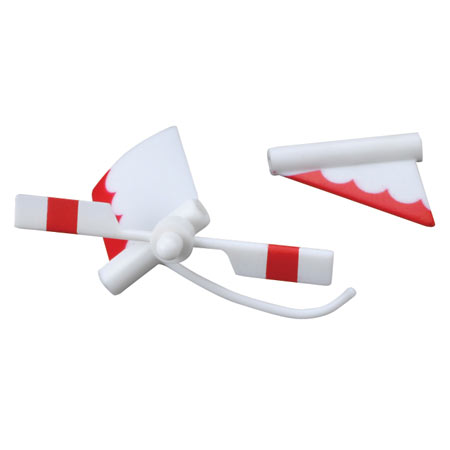 E-flite EFLH2328 S300 Tail Rotor and Fin Set: BMCX