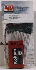FMA Direct 3 cell 3mm commector 11.1v 700mah LiPo battery