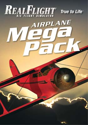 GPMZ4160 RealFlight 6 and Above Airplane Mega Pack