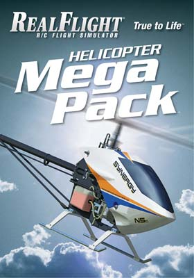 GPMZ4162 RealFlight 6 and Above Helicopter Mega Pack