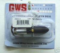 Grand Wing Servo R/C Indoor Power System Dual RXC7.2V A