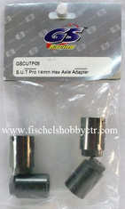 GS Racing GSC-UTP05 Pro Hex Axle Spacer (4): SUT