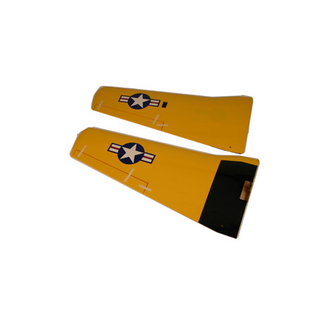 Hangar 9 HAN2427 Wing Set with Joiner/Aileron: T-34