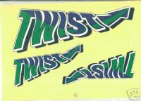 Hangar 9 Twist PNP decal set 2880
