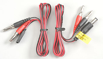 Hobbico HCAP0106 Tx/Rx Charge Leads Hitec/Air Z