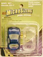 Hobbico Micro sizers Mazda RX-7 body set 2 pack
