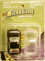 Hobbico Micro sizers Nissan Skyline body set 2 pack