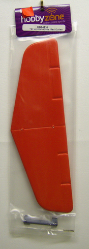 Hobby Zone HBZ4531 Tail with Accessories Red Outlaw