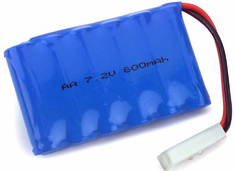 Hobby Zone HBZ2061 7.2V 600mAh Battery: Tank/Lifter