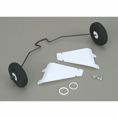 Hobby Zone HBZ7106 Landing Gear with Tires: Cub