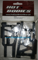 Hot Bodies C8010 F & R Suspension Arm Set:LS
