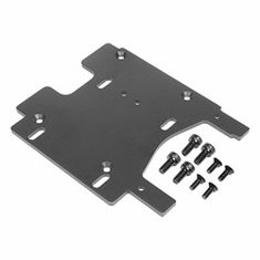 HPI 100906 Motor Plate, Gray: Savage Flux