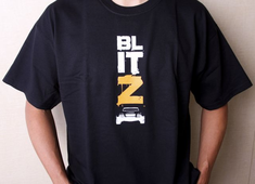 HPI 105194 HPI T-SHIRT BLITZ (BLACK/ ADULT) XL