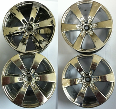 HPI 3013 Q6 Wheel Chrome (4) -- USED