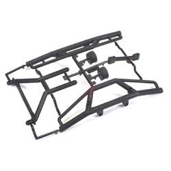 HPI 85059 Bumper & Long Body Mount Set: S21, S25, SAVX, SAVXL