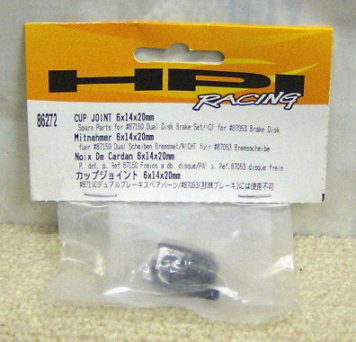 HPI 86272 Cup joint 6x14x20mm