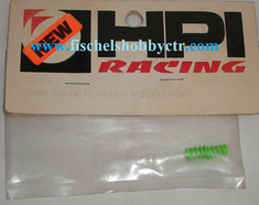 HPI A096 Front Spring .7mm (2) GREEN