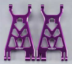 Integy T7089PURPLE Alloy Lower Arm HPI Savage-X (2)