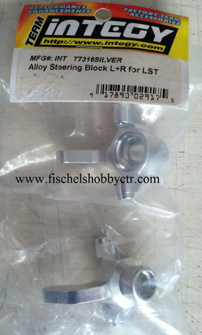 Integy T7316SILVER Steering Block L&R for LST AFT MGB RAM
