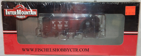 Intermountain/Tichy Train Group t452901-08 NYC 2-Bay Coal Hopper