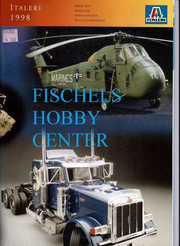 Italeri 1998 model kit Catalog