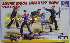"Italeri 351 1/35th Soviet Naval Infantry WWII ""Black Death"""