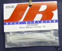 JR JRP960662 Nylon Battery Straps VE