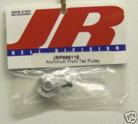 JR JRP996119 Aluminum Front Tail Pulley