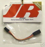 JR JRPA 093 Servo Extension 3in Heavy Duty