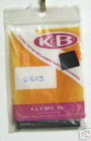 K&B 6823 socket head screws