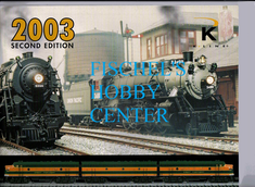 K-line catalog 2003 second edition