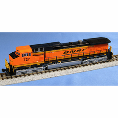 Kato 1763509 N C44-9W BNSF Wedge #727