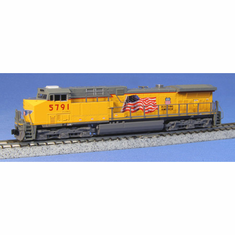 Kato 1767008 N AC4400CW UP Flag #5791