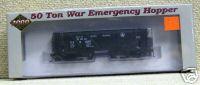 Life-Like 23571 50 Ton War Emergency Hopper B&O 733020