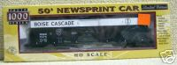 Life-Like 30293 LE 50' Newsprint Car Boise Cascade MD&W 7075